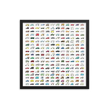 Rad Car Poster