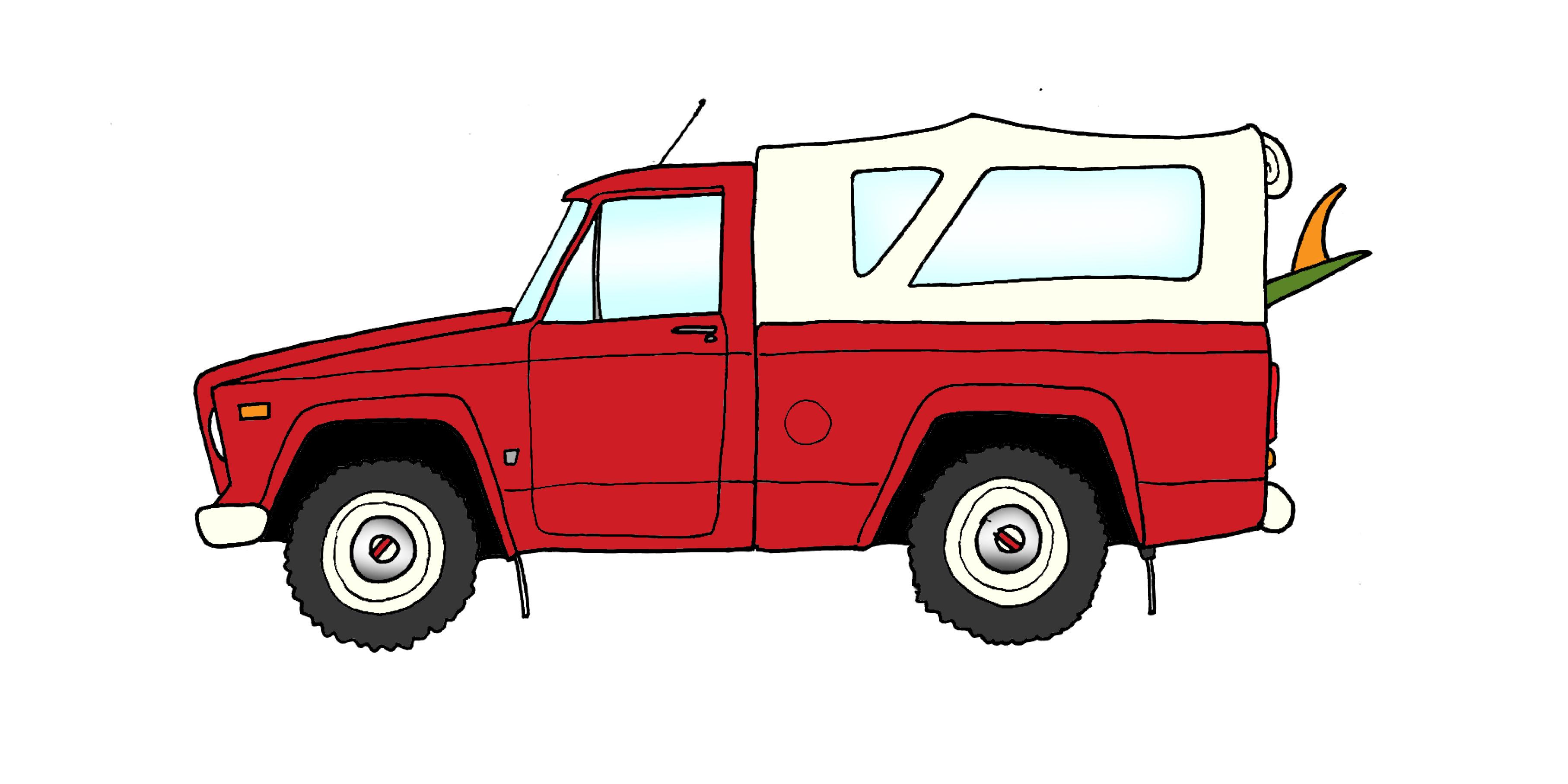 1962 Jeep & 8'0 Dyer Brand SeaBee