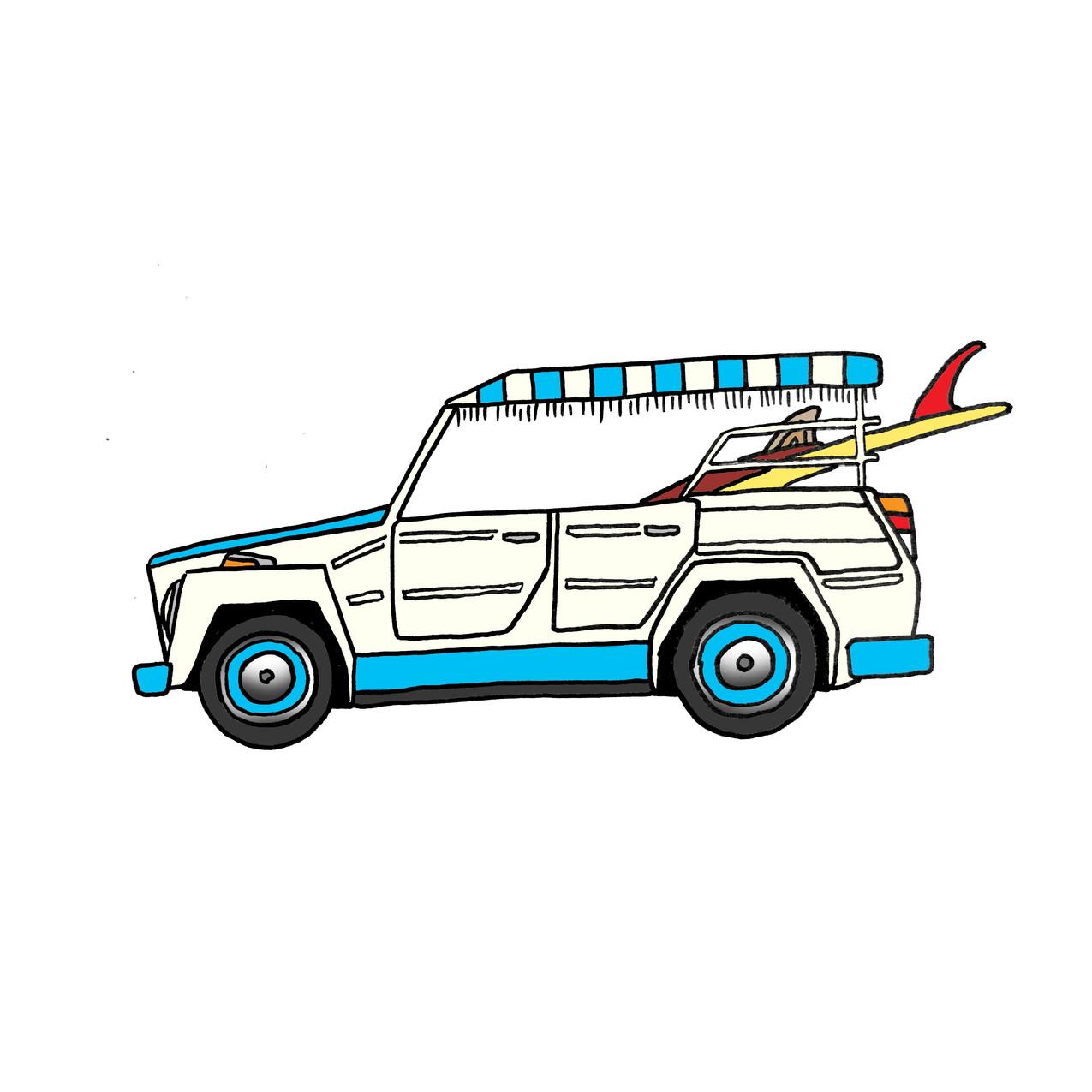 1973 VW thing safari