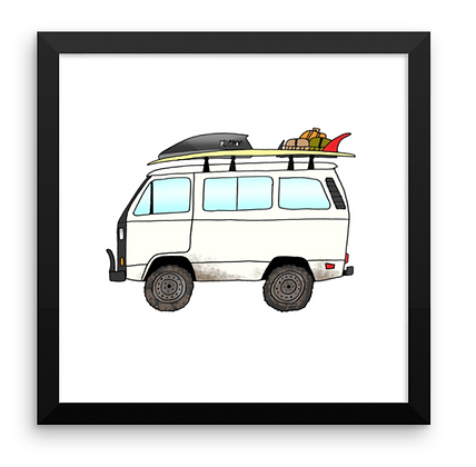 VW Vanagon Syncro & Almond Log