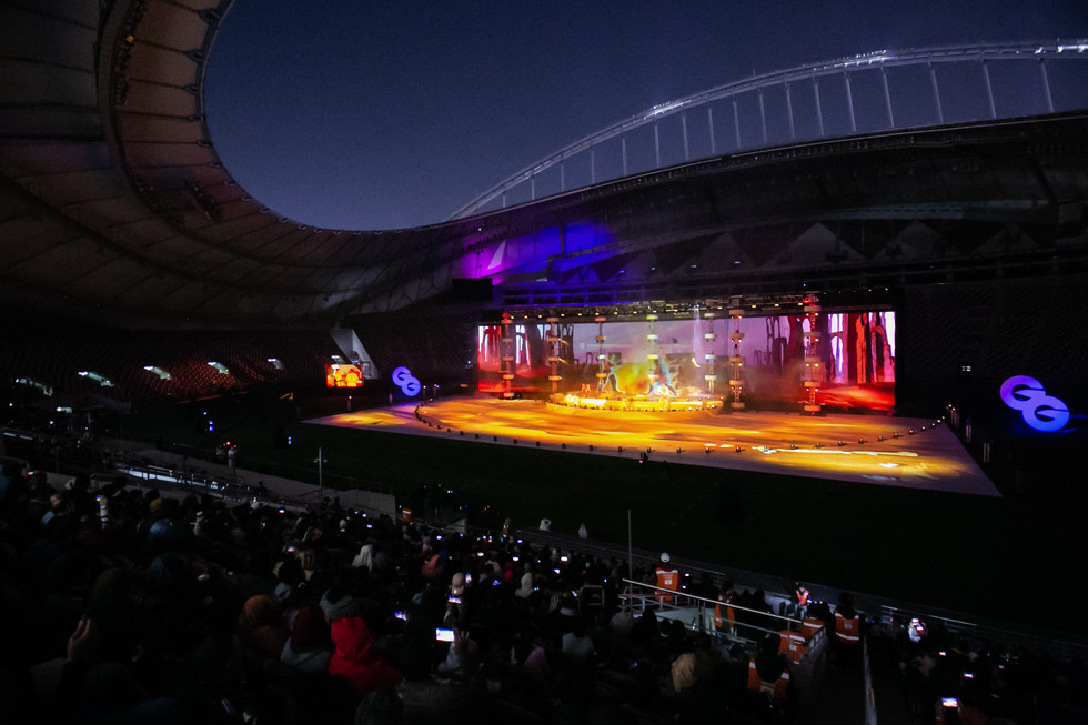 QATAR ESPORTS WEGA GLOBAL GAMES GRAND OPENING 2020