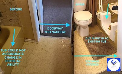 Gowvan bath cut in image from Logic Bath Solutions