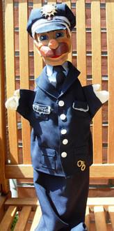 Polizist Puppenbühne