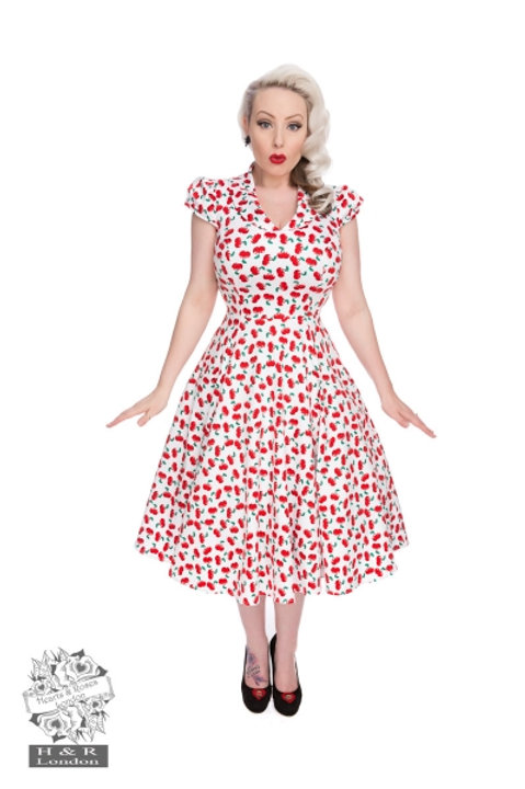 Cherry Swing Dress