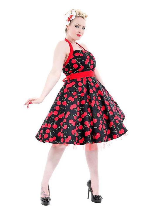 Sweet as a Cherry Halter Dress