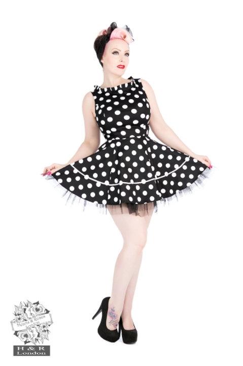Polka Dot Minidress