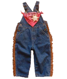 Cowgirl Bib Overalls