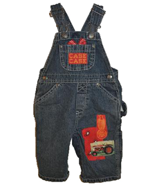 Red Tractor Bib Overalls