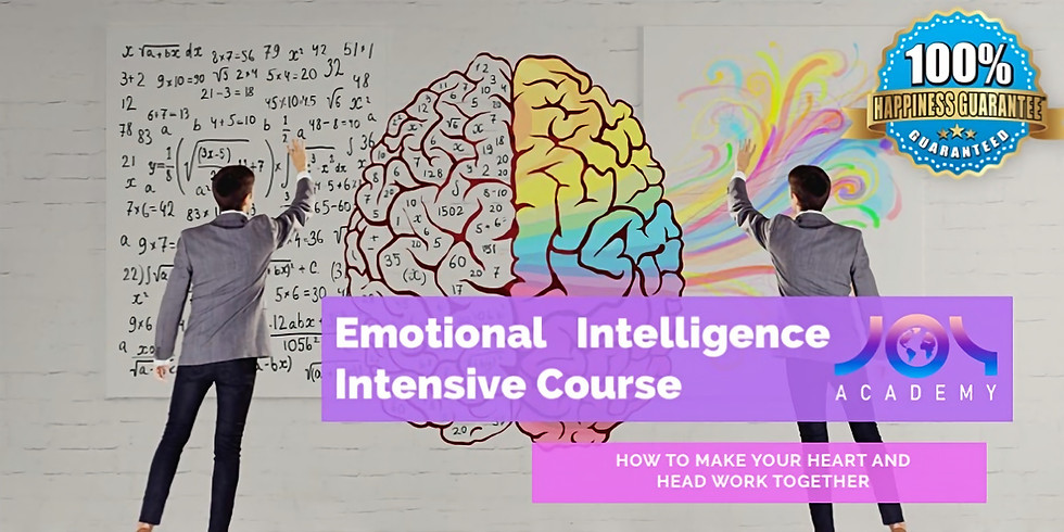 Emotional Intelligence Intensive Course
