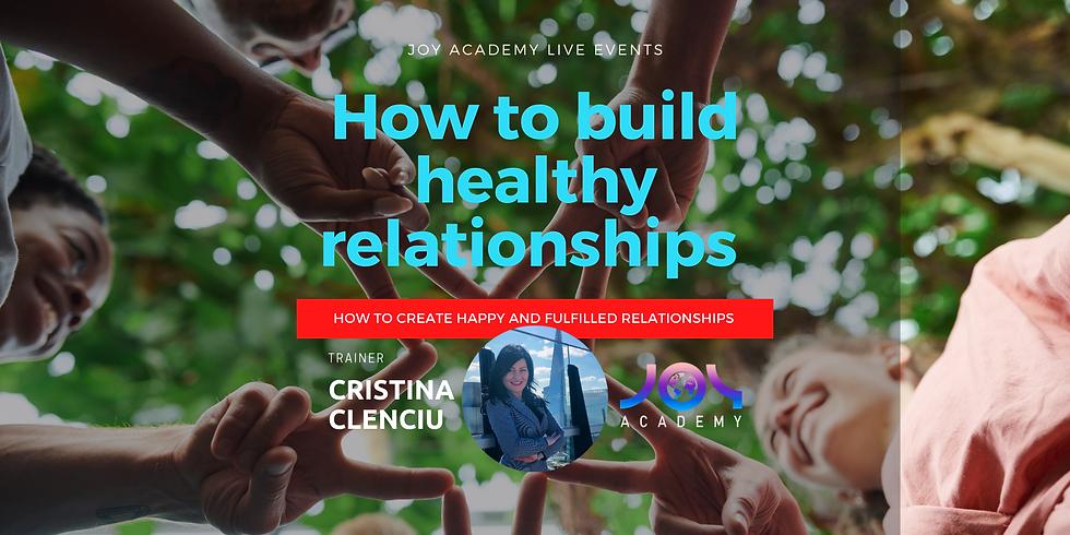 Build Healthy Relationships
