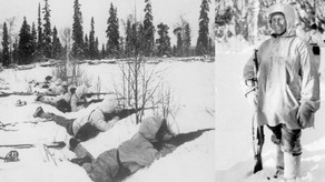'The White Death', the extraordinary story of a Finnish sniper by Richard Denham and Count Dankula