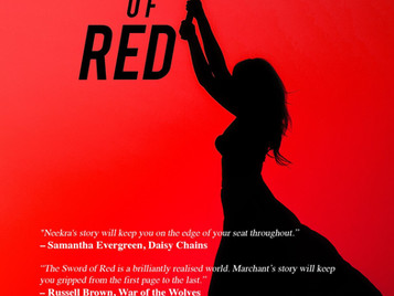 New Release: The Sword of Red by Jackie Marchant