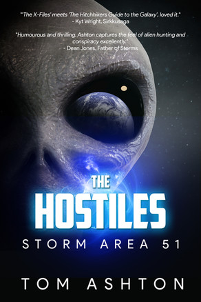 New Release: 'The Hostiles: Storm Area 51' by Tom Ashton