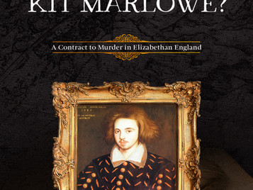 New Release: Who Killed Kit Marlowe? by M. J. Trow and Taliesin Trow