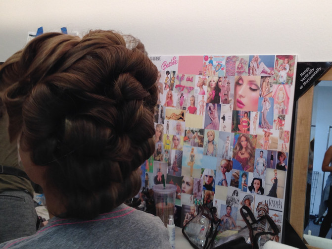 Project Barbie -  Kymberly Marciano Photography BTS