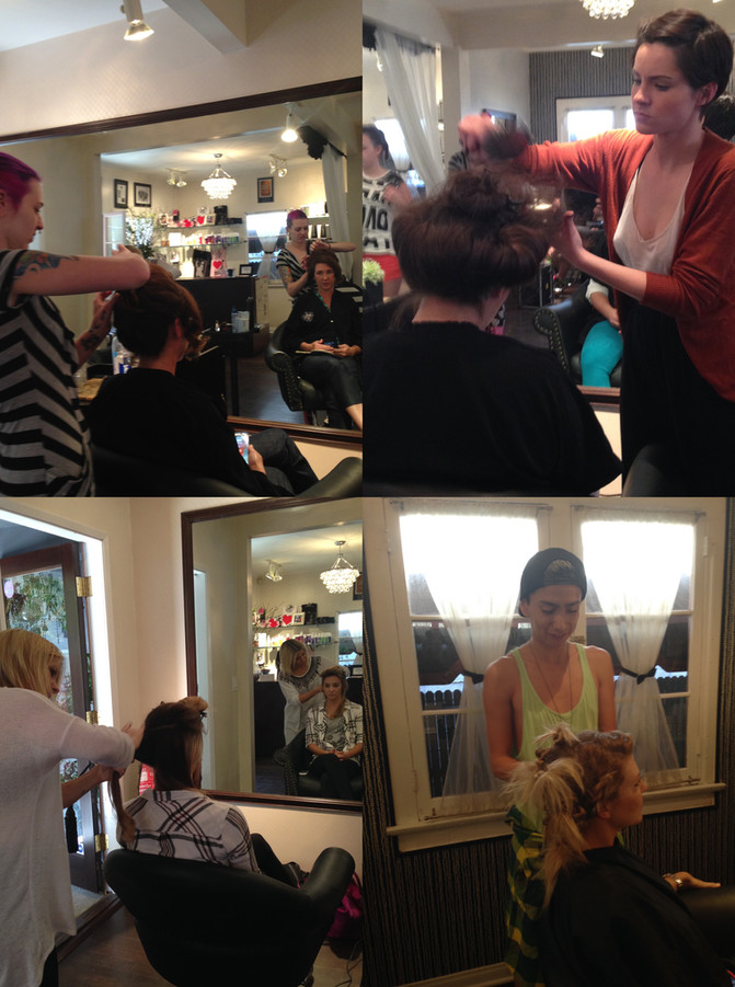 Historical Hairstyling - My First Time Teaching