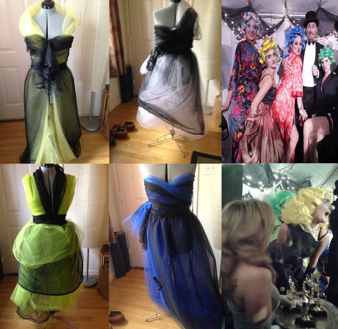 Glamorous Gowns - Harlot Goes Hollywood BTS