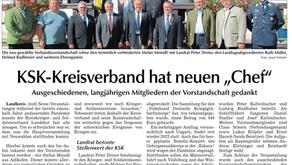 "KSK-Kreisverband hat neuen ""Chef"""
