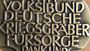 KKSV-Landshut erhält Auszeichnung vom Volksbund Deutsche Kriegsgräber Fürsorge