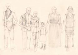 The Six Main Characters
