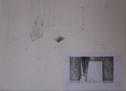 Sketch Set Design of the ACT II
