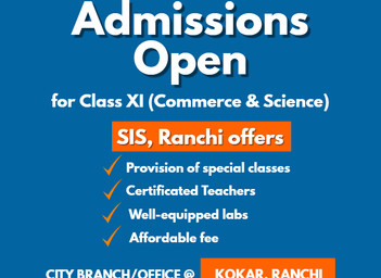 Class XI Admissions OPEN! Enroll now!