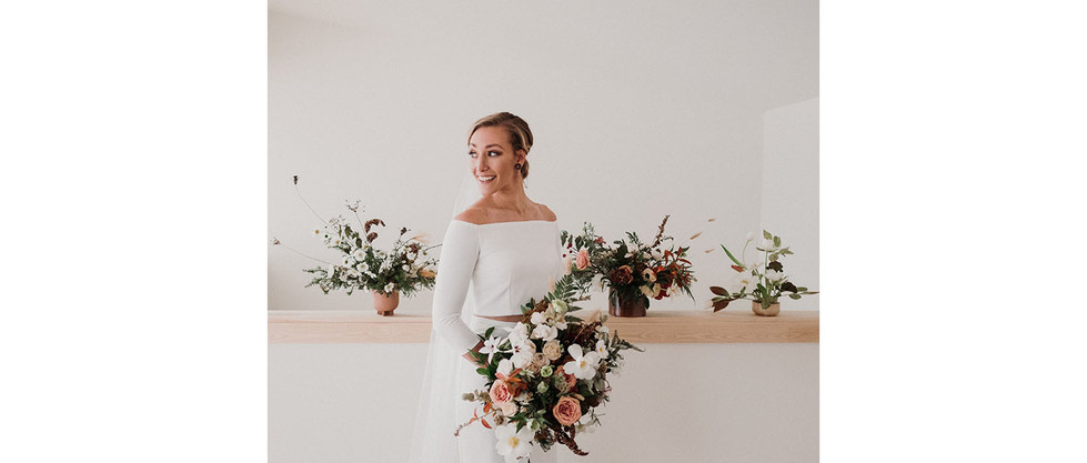 Credits Photographer: Josh Hartman Design: The Revel Rose Floral: Lindsey of Windflower Design Co. Hair and Makeup: Savannah of Nakina Ko Dress: Annie and Renee of One Oak Bride Dessert: Ann of Aunt B's Cakes and Desserts