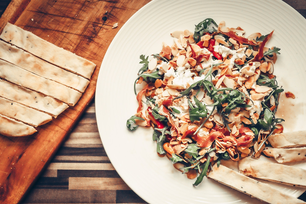 Roasted Peppers and Mozzarella salad recipe