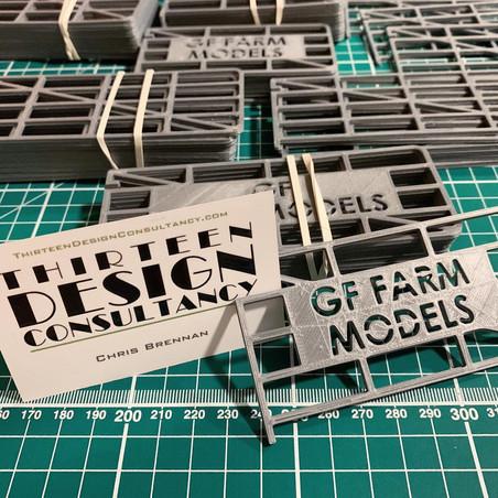 3D Printed Model Farm Gates