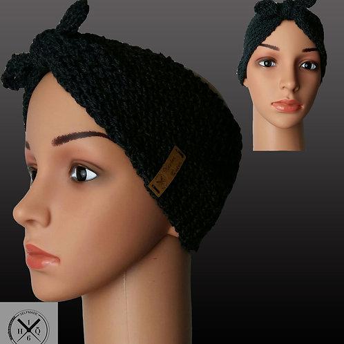 Bandana Stirnband Schokobraun