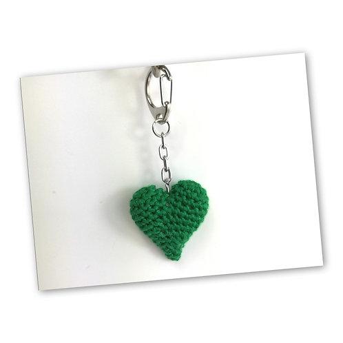 Schlüsselanhänger Herz apfel