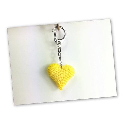Schlüsselanhänger Herz sonne