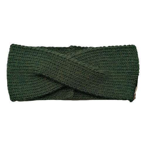 Modell Joy Stirnbandhandgestrickt grün