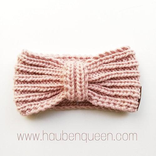 Stirnband bow rosenquarz