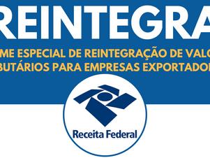 Cosit responde sobre receita para REINTEGRA