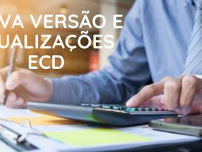 ECD: nova versão do programa e alterações nas normas para imunes e isentas e SCP