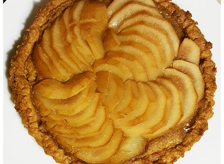 Almond pear tart Recipe