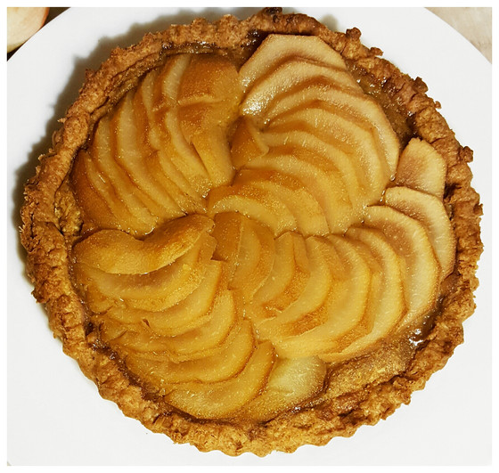 Almond pear tart Recipe