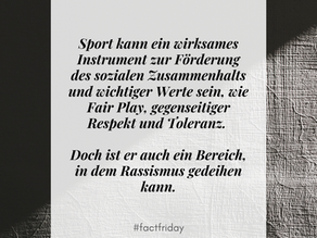 Sport & Rassismus