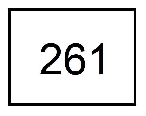261 number