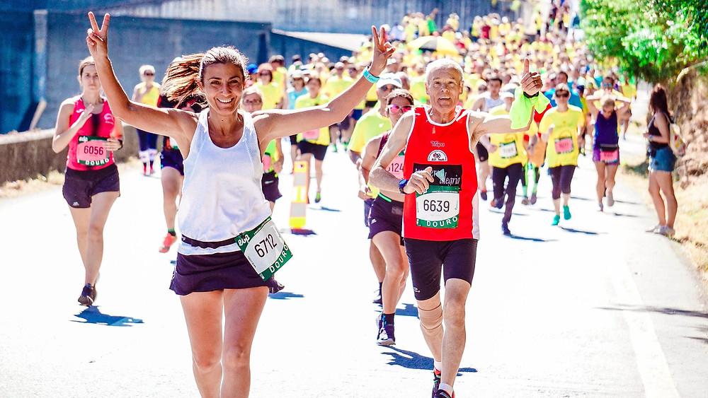 Lauf Sportevent Frauen Laufen