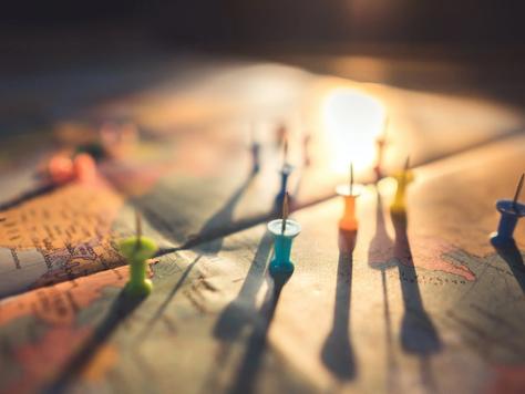 Orte nachhaltigen Sports - Interaktive Landkarte