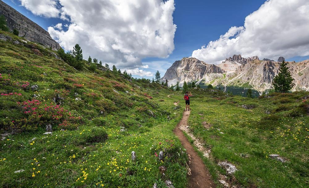Hiking Berg