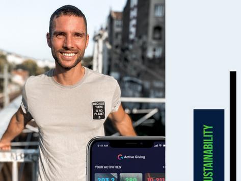 Active Giving - Die App für Klimaschutz und Sport / Interview mit Laurent Petit