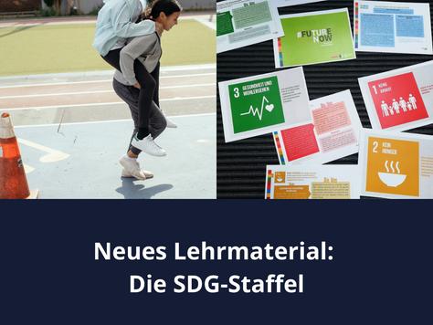 Lehrmaterial im Monat Oktober / Die bewegte SDG-Staffel