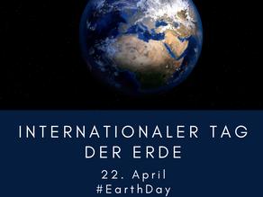 Der internationale #EarthDay am 22. April