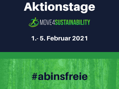 Die move4sustainability Aktionstage: #abinsfreie