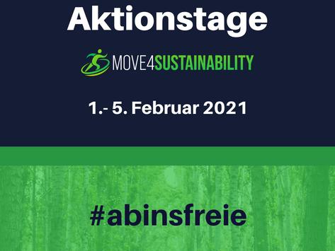 Die move4sustainability Aktionstage: #abinsfreie