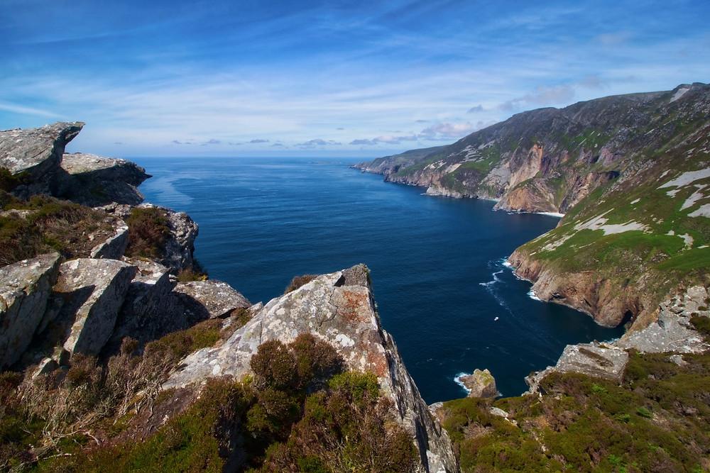 Ireland Sea Hiking Mountains