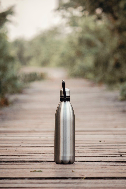 Wasserflasche aus Edelstahl